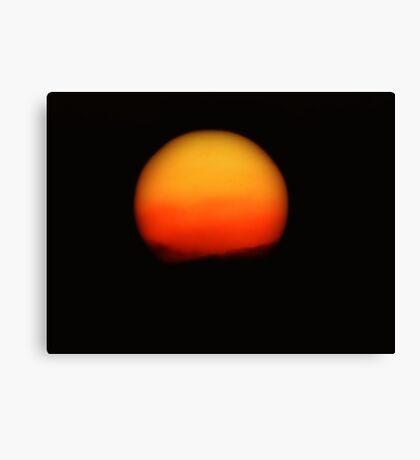 Dark Sun Canvas Print