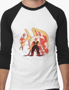 JaspTRES Men's Baseball ¾ T-Shirt