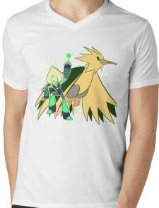 PeriDOS Mens V-Neck T-Shirt