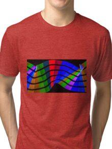 Pixel Sticking Tri-blend T-Shirt