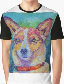 Dog portrait dog painting Graphic T-Shirt
