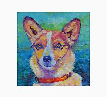 Dog portrait dog painting Unisex T-Shirt