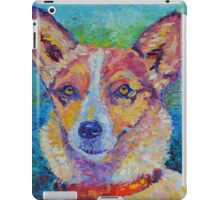 Dog portrait dog painting iPad Case/Skin