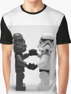 Lego Star Wars Stormtroopers Love Minifigure Graphic T-Shirt