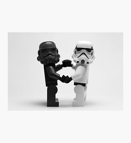 Lego Star Wars Stormtroopers Love Minifigure Photographic Print