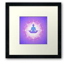 Buddha Yoga Zen Framed Print