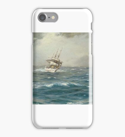 Thomas Jacques Somerscales (Hull )   The Chilean Navy's training ship General Baquedano off Las Evangelistas iPhone Case/Skin