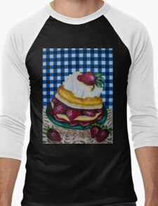 Strawberry dreams Men's Baseball ¾ T-Shirt