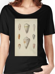 Thesaurus conchyliorum Monographs of genera of shells George Brettingham Sowerby 1887 V1-V5 281 Women's Relaxed Fit T-Shirt