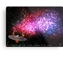 It's easy to get lost in the vastness of the space Metal Print