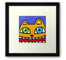 Happy bear Framed Print