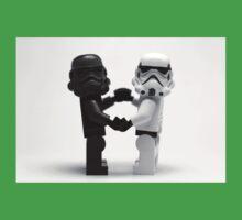 Lego Star Wars Stormtroopers Love Minifigure Kids Tee