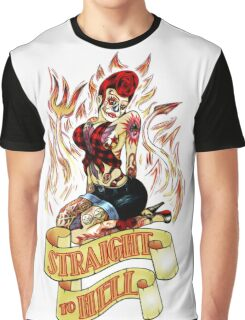 Straight to Hell Graphic T-Shirt