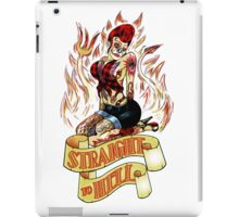 Straight to Hell iPad Case/Skin