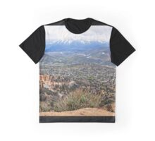 View From Virginia City, Nevada USA Graphic T-Shirt