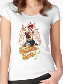 Straight to Hell Women's Fitted Scoop T-Shirt