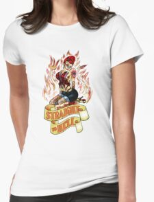 Straight to Hell Womens Fitted T-Shirt