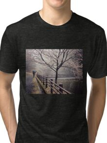 Strolling in the Rain Tri-blend T-Shirt