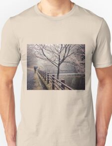 Strolling in the Rain Unisex T-Shirt