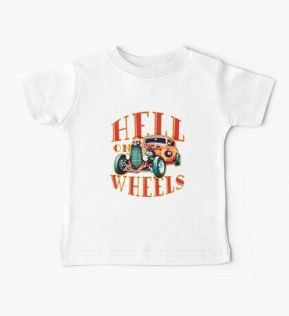 Hell on Wheels Baby Tee