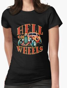 Hell on Wheels Womens Fitted T-Shirt