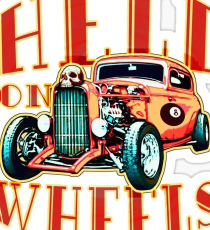 Hell on Wheels Sticker