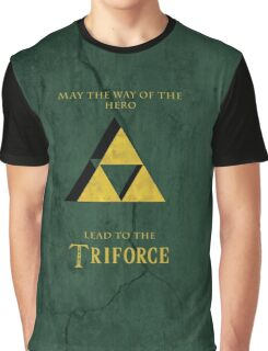 Triforce Lives Graphic T-Shirt