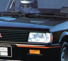 Mitsubishi Lancer 2000 Turbo Sticker