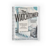 Remain Loyal to Jehovah! 2016 Convention of Jehovah's Witnesses (1970 Watchtower) Spiral Notebook
