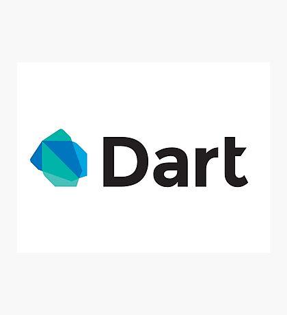 dart programming language Photographic Print