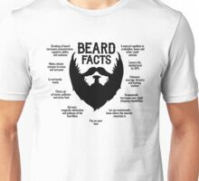 Beard Facts (black) Unisex T-Shirt