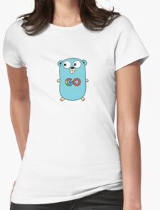 google go programming language color Womens Fitted T-Shirt