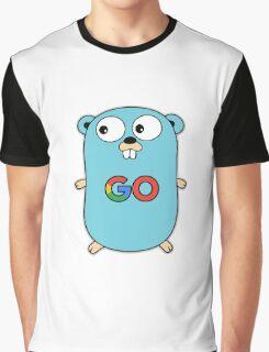 google go programming language color Graphic T-Shirt