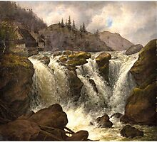Albert Tides , The Traunfall in Upper Austria Photographic Print