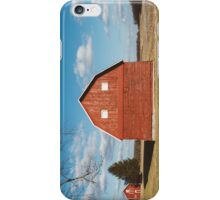 The Red Barn iPhone Case/Skin