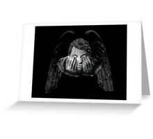 Weeping Angel Castiel Greeting Card