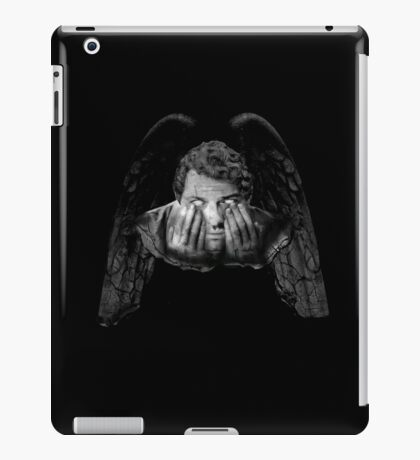 Weeping Angel Castiel iPad Case/Skin