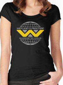WEYLAND YUTANI ALIEN (1) Women's Fitted Scoop T-Shirt