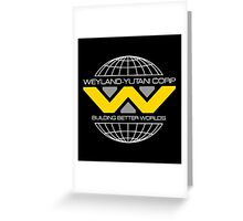 WEYLAND YUTANI ALIEN (1) Greeting Card