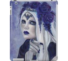 Letha Vampire woman fantasy art by Renee Lavoie iPad Case/Skin