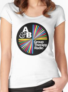 Above & Beyond Group Therapy Women's Fitted Scoop T-Shirt
