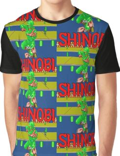 SHINOBI BONUS STAGE Graphic T-Shirt