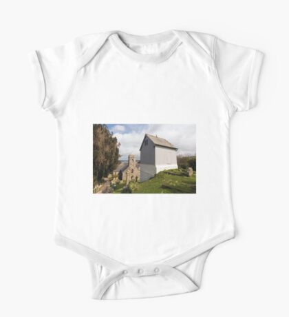 Bell Tower St Mylor Cornwall One Piece - Short Sleeve