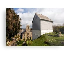 Bell Tower St Mylor Cornwall Metal Print