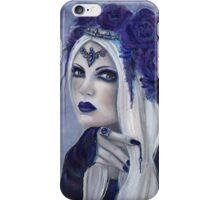 Letha Vampire woman fantasy art by Renee Lavoie iPhone Case/Skin