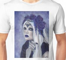 Letha Vampire woman fantasy art by Renee Lavoie Unisex T-Shirt
