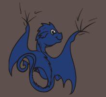 Blue Dragon Rider One Piece - Short Sleeve