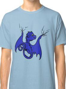 Blue Dragon Rider Classic T-Shirt