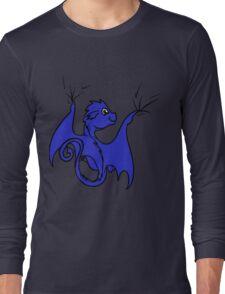 Blue Dragon Rider Long Sleeve T-Shirt