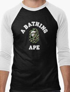 APE CAMO Men's Baseball ¾ T-Shirt
